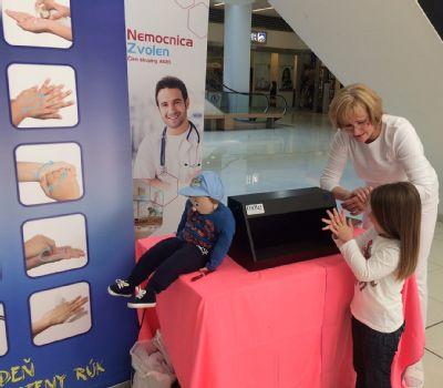 Minko Špinko dnes navštívil Zvolenskú Európu pri príležitosti svetového dňa hygieny rúk