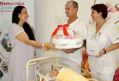 Nemocnica Zvolen zaznamenala tisíci pôrod