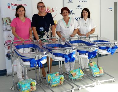 Nemocnica Zvolen dostala novorodenecké lôžka