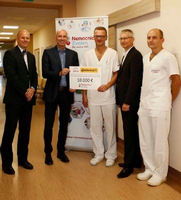 Nový prístroj zvýši bezpečnosť a kvalitu operácii vo zvolenskej nemocnici