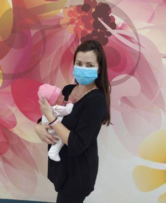 Hanka je 1000. dieťatko narodené v Nemocnici AGEL Zvolen v tomto roku