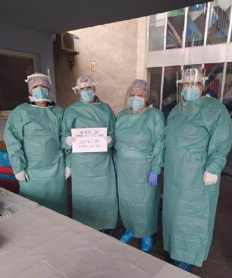 V Nemocnici AGEL Zvolen otestovali počas víkendu 1670 ľudí. Zdravotníci vydali zo seba maximum napriek únave a vypätiu