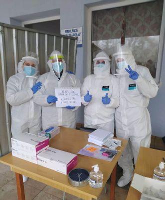 V Nemocnici AGEL Zvolen otestovali počas 2. testovacieho víkendu 1314 ľudí