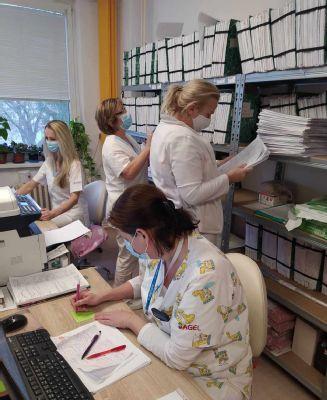 Strážia naše zdravotné tajomstvá. Dokumentačné sestry sú súčasťou Nemocnice AGEL Zvolen od jej začiatku