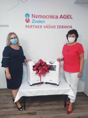 Mesto Zvolen pomáha zvolenskej nemocnici. Vďaka finančnej dotácii má nemocnica nové kyslíkové koncentrátory a postele