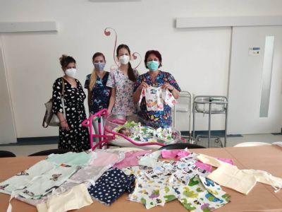 Zvolenská nemocnica dostala dar pre bábätká